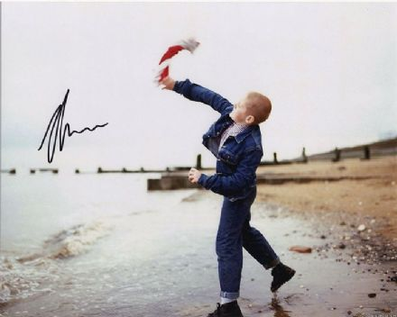 Thomas Turgoose, This is England, signed 10x8 inch photo.